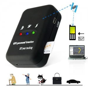 Two Way Calling GPS Trackers with SMS Alerts + Quadband + LED Lights